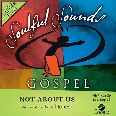 Noel Jones - Not About Us - Accompaniment / Performance Track - New Christmas Music Accompaniment Tracks