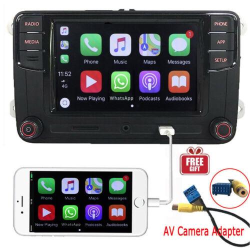 "6.5"" Autoradio MIB2 RCD330 CarPlay Bluetooth RVC USB Für VW Golf 5 6 Passat Seat"