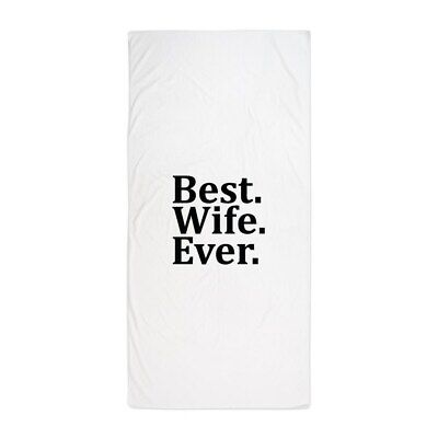 CafePress Best Wife Ever Beach Towel