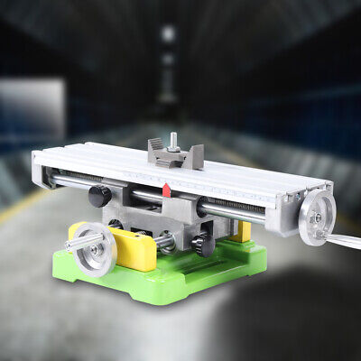 Bg6350 Mini Precision Milling Machine Bench Drill Vise Fixture Xy 2-axis Working