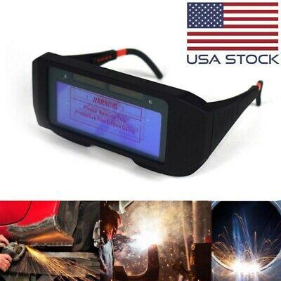Solar Auto Welding Darkening Glasses Welder Mask Helmet Eyes Goggle For Welding