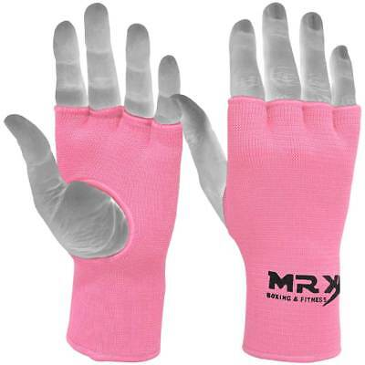 Women Hand Wraps Inner Boxing Gloves Muay Thai Fist MRX Protective Kick Pink - Pink Boxing Gloves