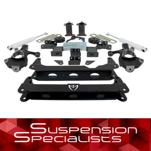 """7"""" Front 5"""" Rear Leveling Lift Kit W Shocks For 2007-2013 Chevy Silverado 4x4"""