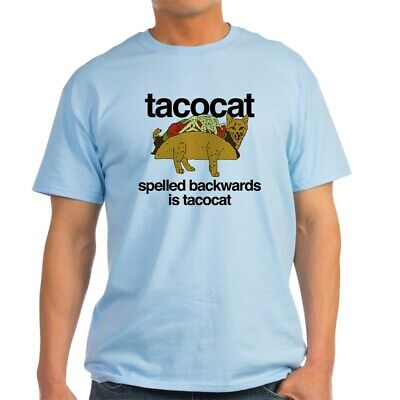 CafePress Tacocat Spelled Backwards Light T Shirt Light T-Sh