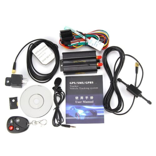 NEW GPS/SMS/GPRS TRACKER TK103B VEHICLE TRACKING SYSTEM WITH REMOTE CONTROL