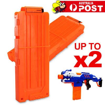 Quick Reload 12 Darts Bullet Ammo Clip Magazine For Nerf N-Strike Elite Toy Gun