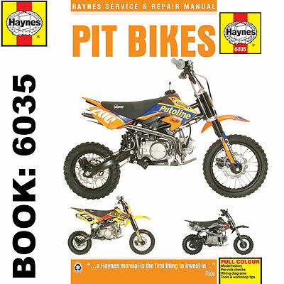 Pit Bikes - Lifan Zongshen Stomp WPB Demon-X LMX M2R Haynes Workshop Manual