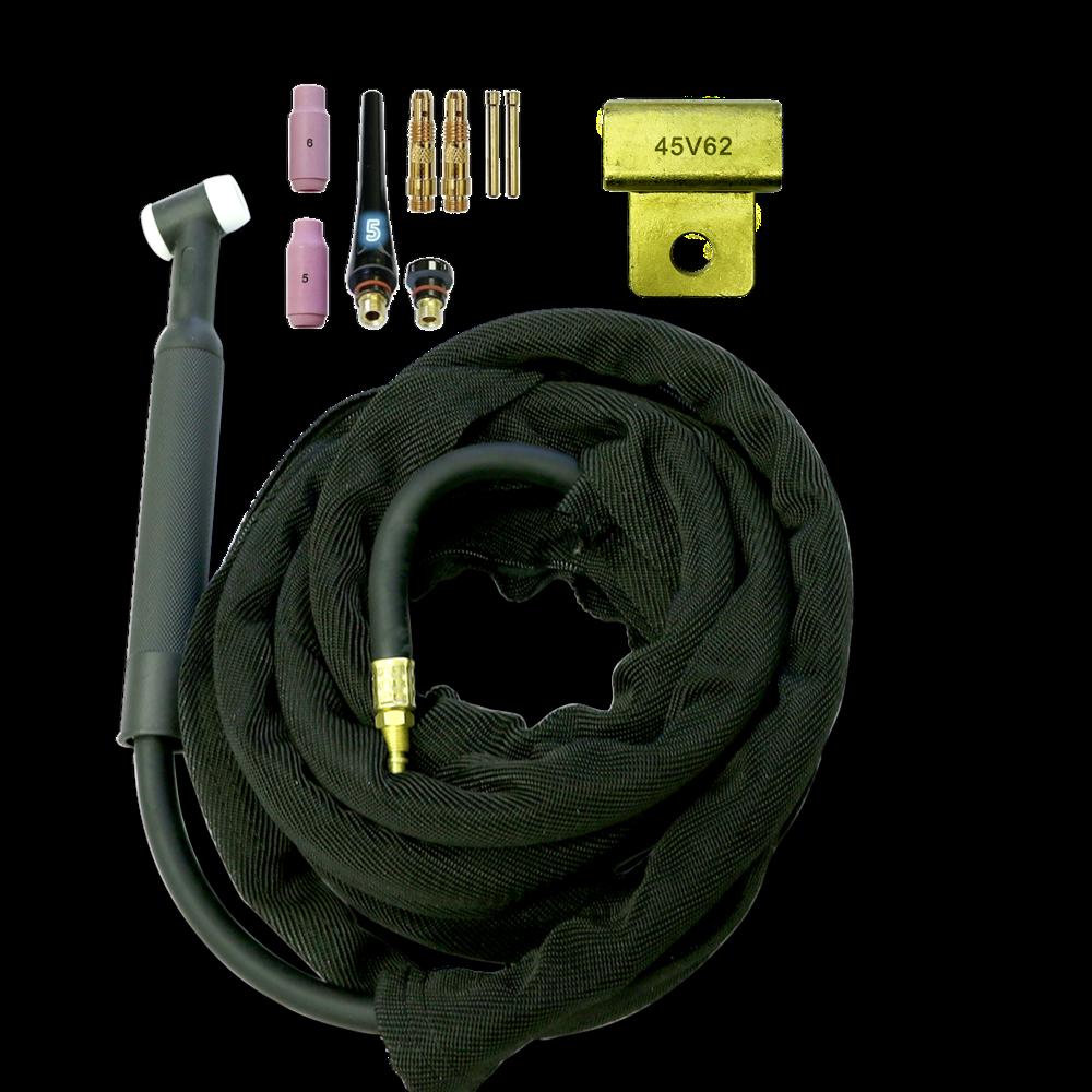 Miller Rear TIG Welding Torch WP-17F 150A 12.5/' Flex Head Air-CoolUS Seller