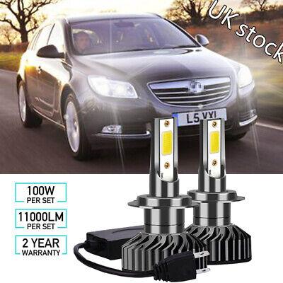 Vauxhall Calibra 100w Super White Xenon HID High//Low//Side Headlight Bulbs Set