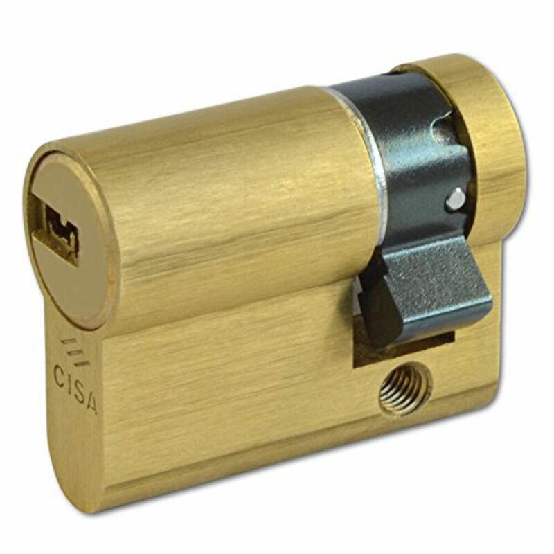 Cisa Astral Euro Half Cylinder 40mm SB (0A314-02-00)