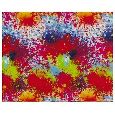 Hydrographic Water Transfer Hydro Dipping Film Paint Splatter 3 1sq