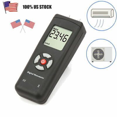 Tl-100 Air Pressure Gauge Gas Pressure System Lcd Manometer11 Selectable Unit