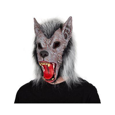 Vollmond Madness Werwolf Ani-Motion Maske Herren Halloween Wölfe Kostüm