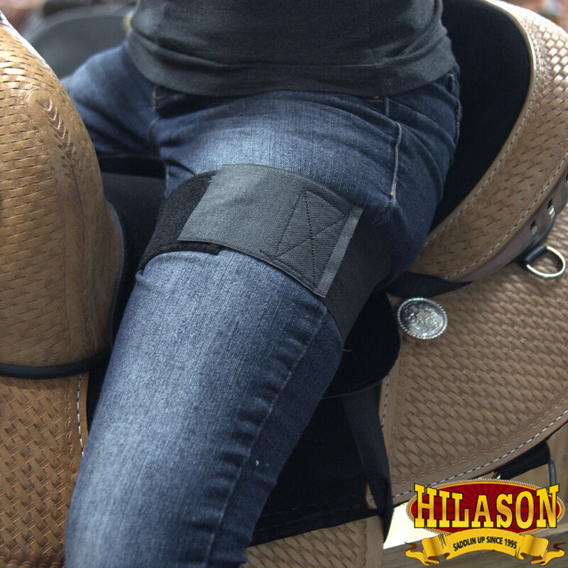 Hilason Western Anti Slip Grip Horse Saddle Seat Cover Riding Black U-L210