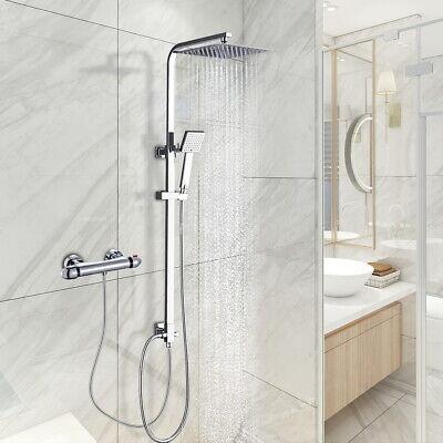 Duschset Duschsystem Brausegarnitur Regendusche Duscharmatur ohne Wasserhahn Bad
