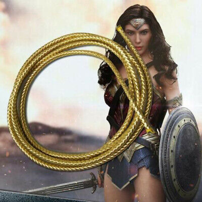 Wonder Womans Costume (Wonder Woman Diana Prince Costume Props Turth Rope String With Belt)