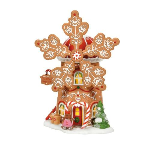 Dept 56 GINGERBREAD COOKIE MILL North Pole Village 6007610 NEW 2021 IN STOCK!