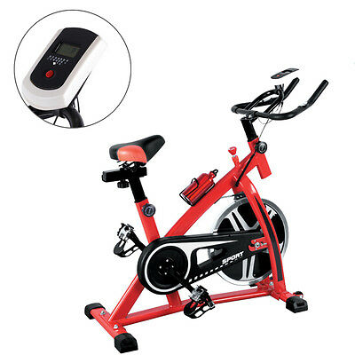 Indoor Bike Home Gym Stationary Exercise Bicycle Fitness Cycling 33lbs Flywheel