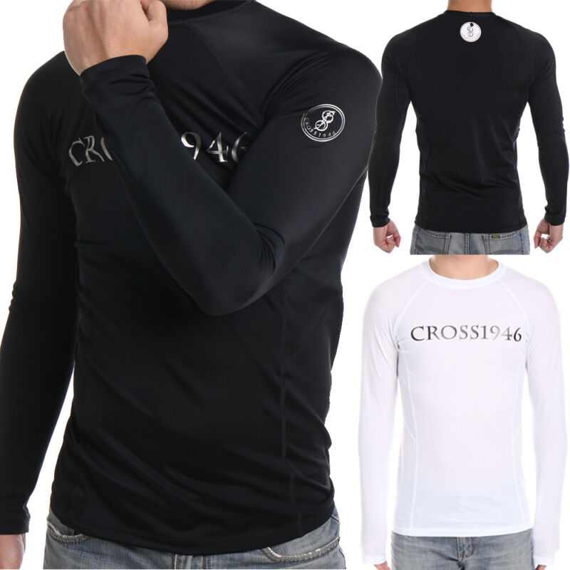men coovy long sleeve rash guard surf