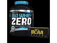 Bio-Tech USA Iso Whey Zero 2270g. + 120caps Bcaa gratis