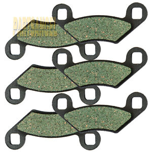 Front-Rear-Kevlar-Carbon-Brake-Pads-2009-2013-POLARIS-550-Sportsman-XP-EPS-X2