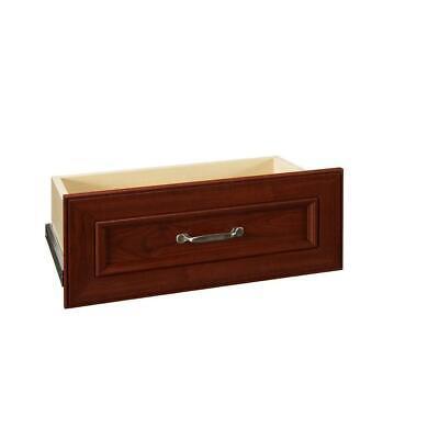 ClosetMaid Wood Closet Drawer Kit 8.7 in. H x 21.54 in. W Dark Cherry -