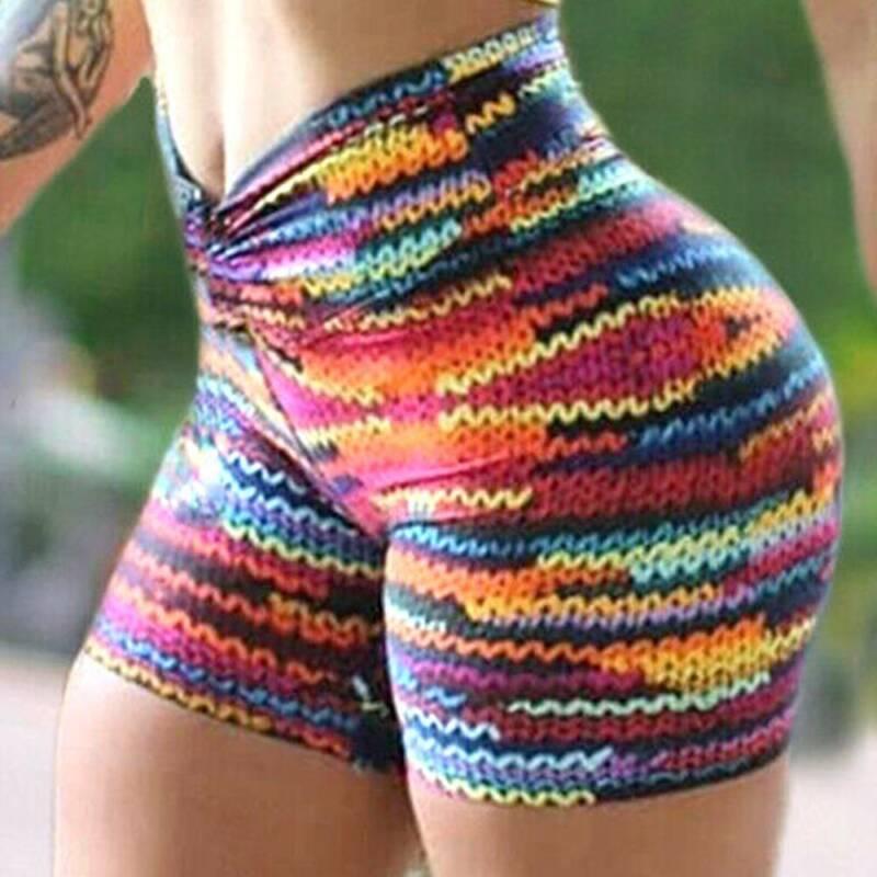 Women Yoga Gym Anti-Cellulite Leggings Fitness Solid Butt Lift Elastic Gym Pants