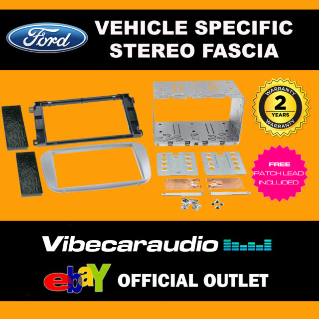 Ford Focus 2007 - Double Din Stereo Fascia Panel Adaptor CT23FD09