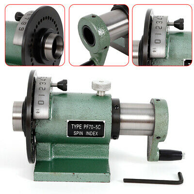 Pf705c Collet Spin Jig Indexing Fixture For Grinders Milling Machine 2-116