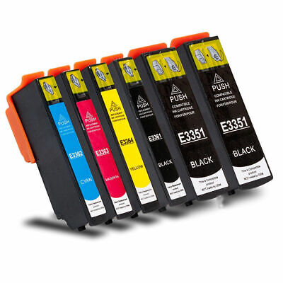 6x Drucker Patronen kompatibel für EPSON Expression XP-530 XP-540 XP-630 XP-635