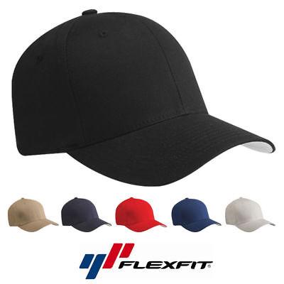 WHOLESALE Flex Fit 5001 V-Flexfit Cotton Baseball Cap Fitted Ballcap Blank Hat  - Whole Sale Hats