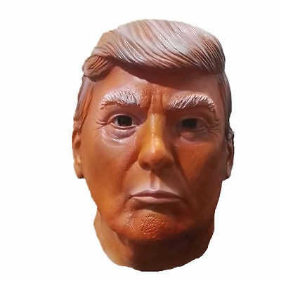 Donald Trump Mask Halloween Funny President Republican Costume Hillary Clinton - Hillary Clinton Halloween Mask