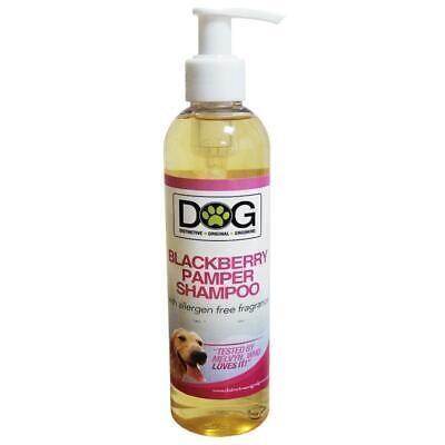 250ml Distinctive Original Grooming Dog Blackberry Pamper Shampoo