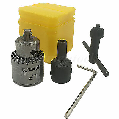 Watchmakers Electric Drill Chuck 0.3-4mm Jt0 Taper Mounted With 5mm Motor Shaft
