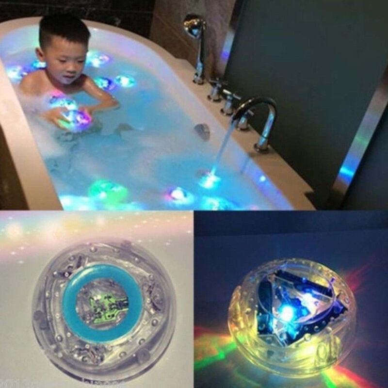 Kids Light-up Bathing Toy Toddler Durable Floating Boys Girls LED Toy
