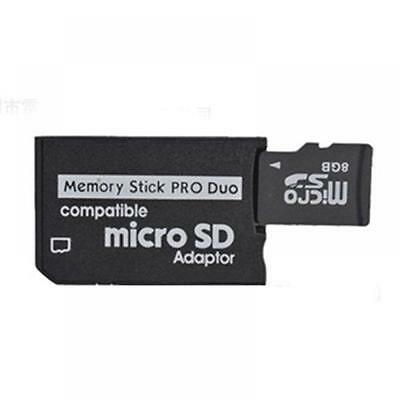 PSP Adapter TF To MS Reader Micro SD Adaptor Memory Stick MS Pro Duo Converter