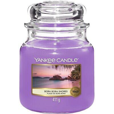Yankee Candle Yankeecandles Candela Profumata Giara Media 411g Bora Bora Shores