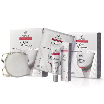 Anti Wrinkle Face Shape Lift Double Chin Reducer V-Line Strap Masks Cream - (Circle Face Shape)
