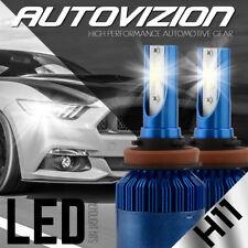AUTOVIZION LED HID Headlight Conversion kit H11 6000K for Nissan Quest 2011-2016