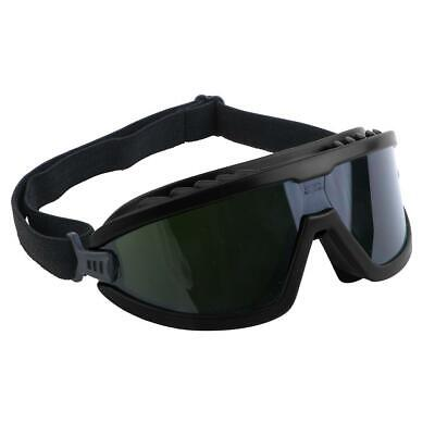 Lincoln Electric 4 In. Green Safety Black Ir5 Lens Brazing Welding Goggles