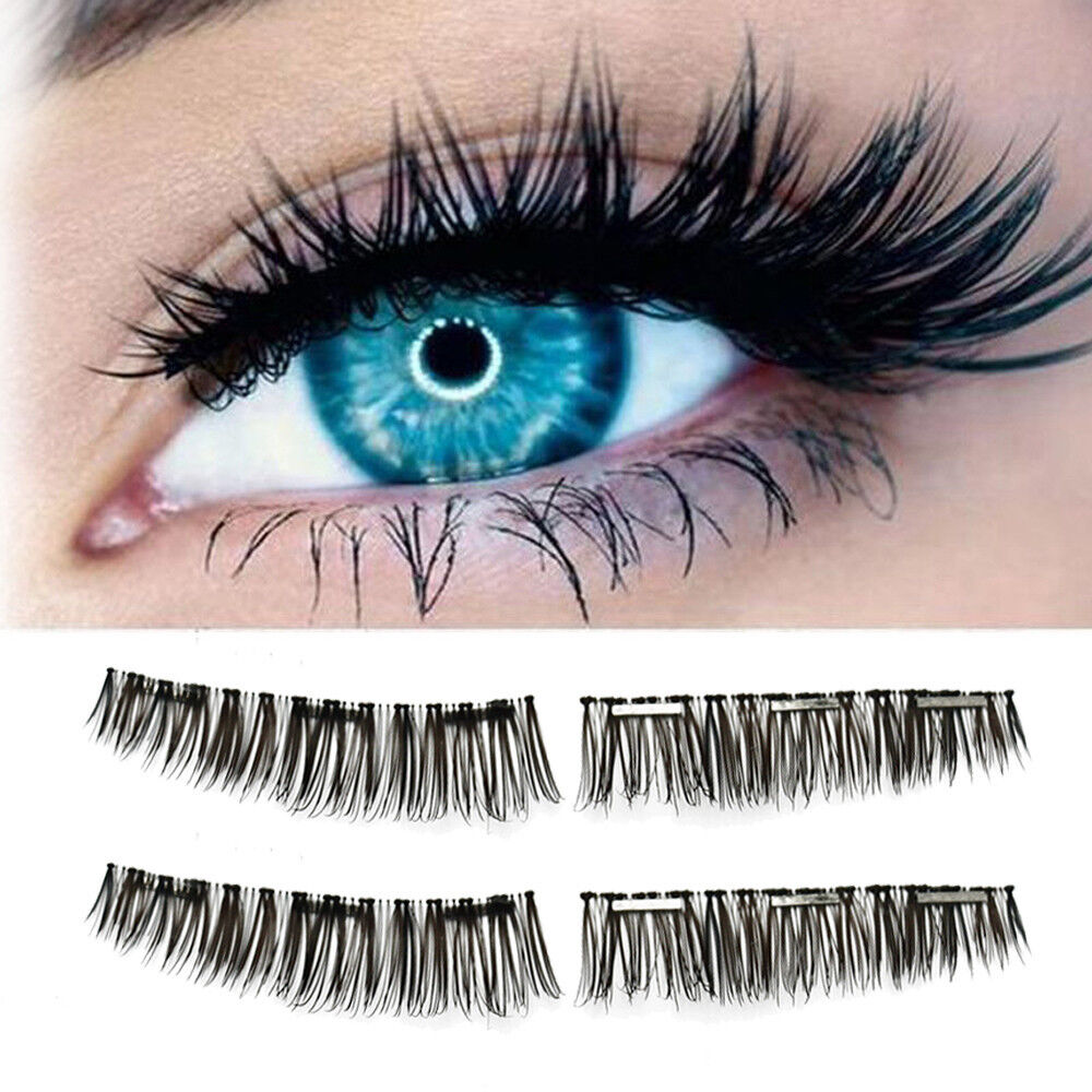 Ultra-thin 0.2mm Magnetic Eye Lashes 3D Reusable False Magnet Eyelashes Tapered