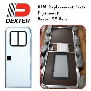NEW Dexter 5050RC-F4528 LK 5050RC 30X72 RV Door Condtion: New, No shipping, Has mark on the front and mark is removable