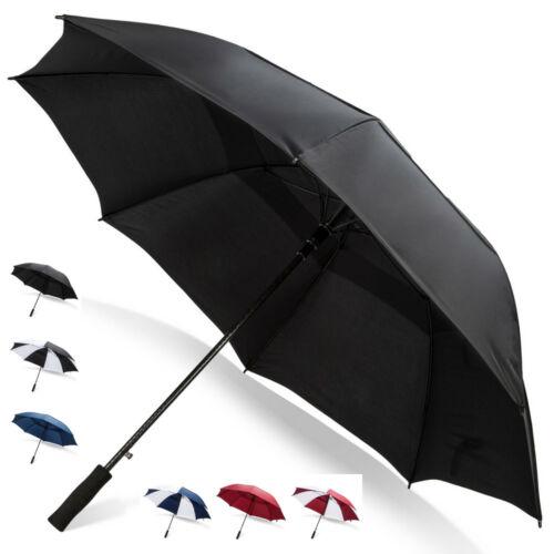 Third Floor Umbrellas 68 Inch Automatic Open Golf Umbrella - Large Vented Canopy