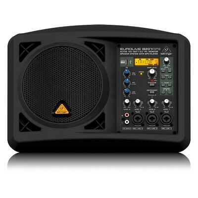"Behringer EUROLIVE B207MP3 Active 150W 6.5"" PA Monitor Speaker MP3 Player System"