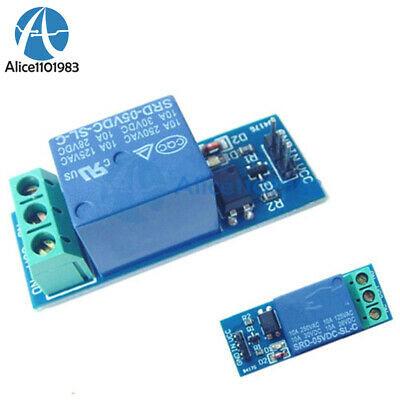 5v 10a One 1 Channel Relay Module With Optocoupler For Pic Avr Dsp Arm Arduino