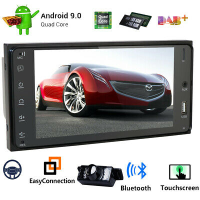 """7"""" Android 9.0 Car No DVD Player Radio Stereo GPS For Toyota Camry 2002-2006+Cam"""