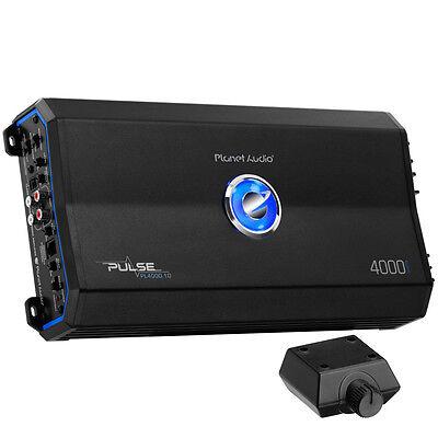 Planet Audio 4000W Class D Monoblock Mosfet 1 Ohm Car Audio Amplifier Pl4000 1D