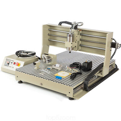 2018 Cnc Router Engraver - 6090 4axis 1500w Vfd Mill Drill Machine Usb Port