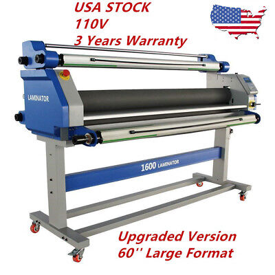 Pro 60 Inch Full-auto Take Up Large Format Hot Cold Seal Laminator Machine Usa