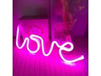 Love Neon Light,Neon Love Signs ,Neon Light Signs LED